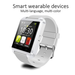 Cheapest touch screen u8 smart watch, phone calling smart bluetooth watch, bluetooth smart watch u8 for iPhone
