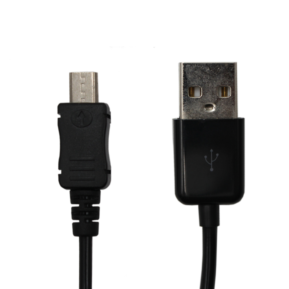 High Quality 3FT PVC Spring Coiled USB 2.0 Type A to Micro B Data Charge Cable