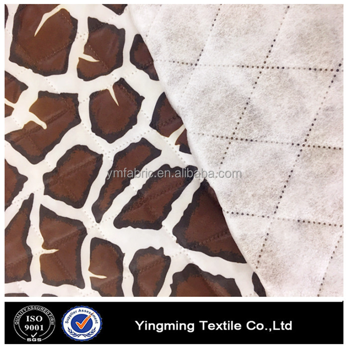 down and cired jacket padding polyester fabric