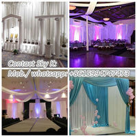 cheap pipe and drape kits for backdrop wedding event