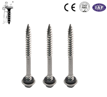 Sandwich double thread type17 lead self tapping screw