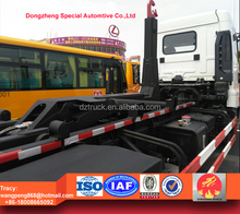 CAMC swing arm garbage truck, 4X2 hook lift waste truck for sale