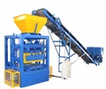 QT4-24 vibration paving hollow brick pressing machine price in laos