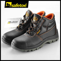 Genuine cow leather safety shoes M-8010