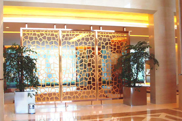 JIS 304 color coat mirror 8K stainless steel sheet for hotel decoration