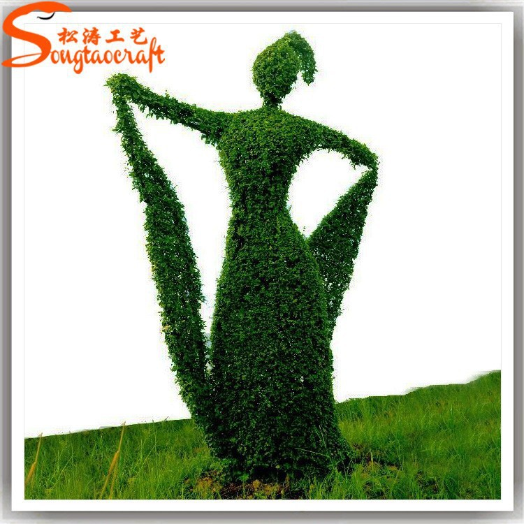 Ourdoor artificial grass garden and landscaping products for decoration