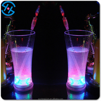 event promotional led glass, flashing light plastic cup
