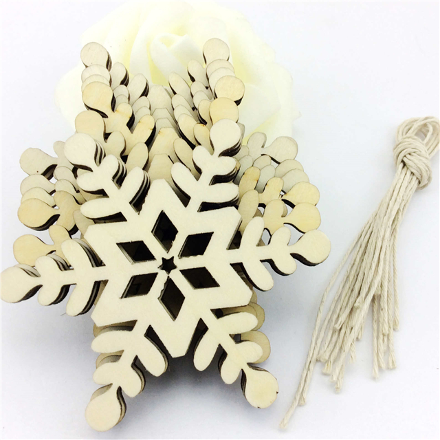 laser cut wood craft  christmas hanging decoration