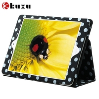 pu leather cover book style tablet covers & cases for iPad air