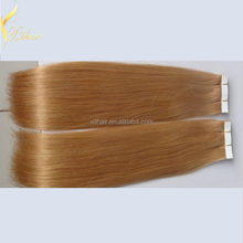 New 2016 raw unprocessed 100% genuine raw brazilian tape hair extensions
