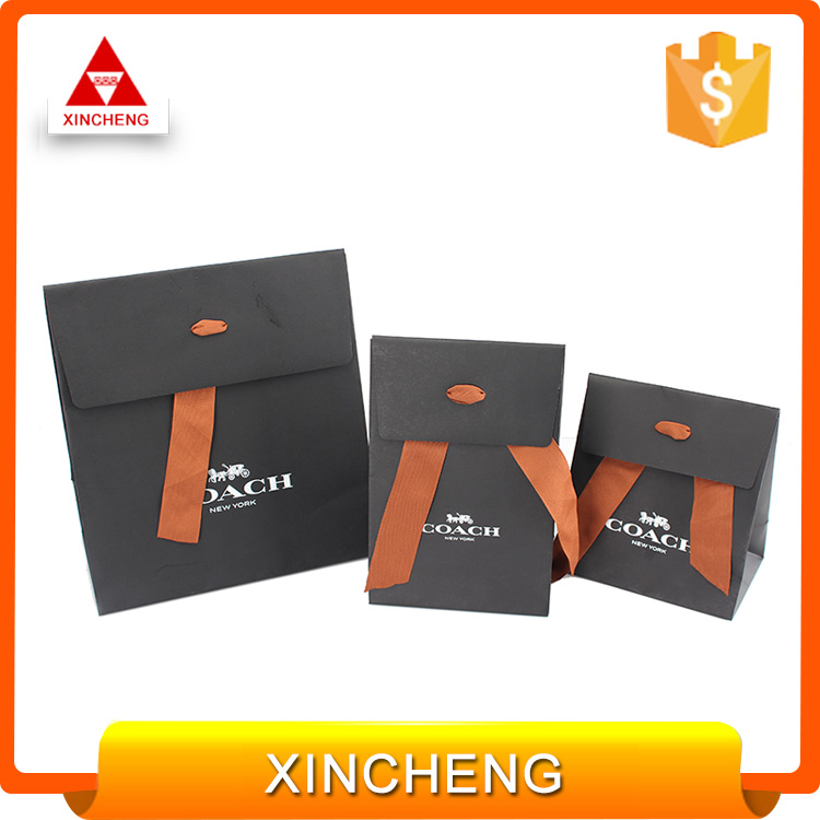 Best price China manufacturers small branded paper bag for gift