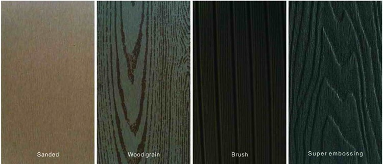 Hot sale WPC composite flooring non-cracking WPC decking boards