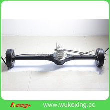 electric differential rear axle for electric auto rickshaw