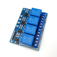 4 Channel <strong>12</strong> volt Relay Board with Optocoupler