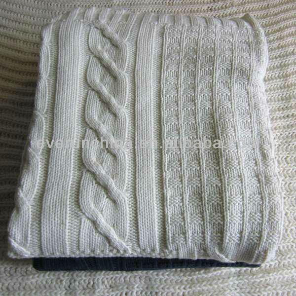 50cc71 100 couverture en tricot de coton point de croix patchwork couverture en tricot 2013. Black Bedroom Furniture Sets. Home Design Ideas