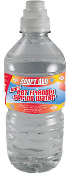 Sport Dog 100% Pet Friendly Spring Water.
