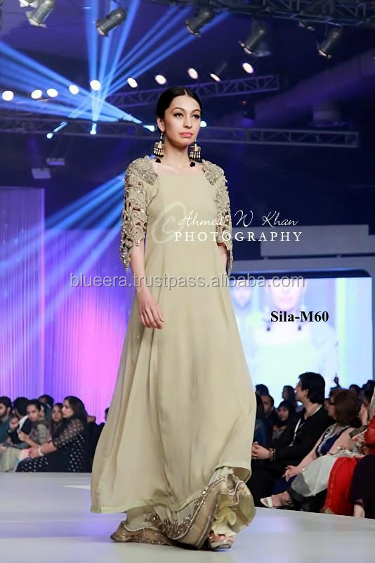 Embroidered jacket style maxi with lenga bridal dress BE-M60