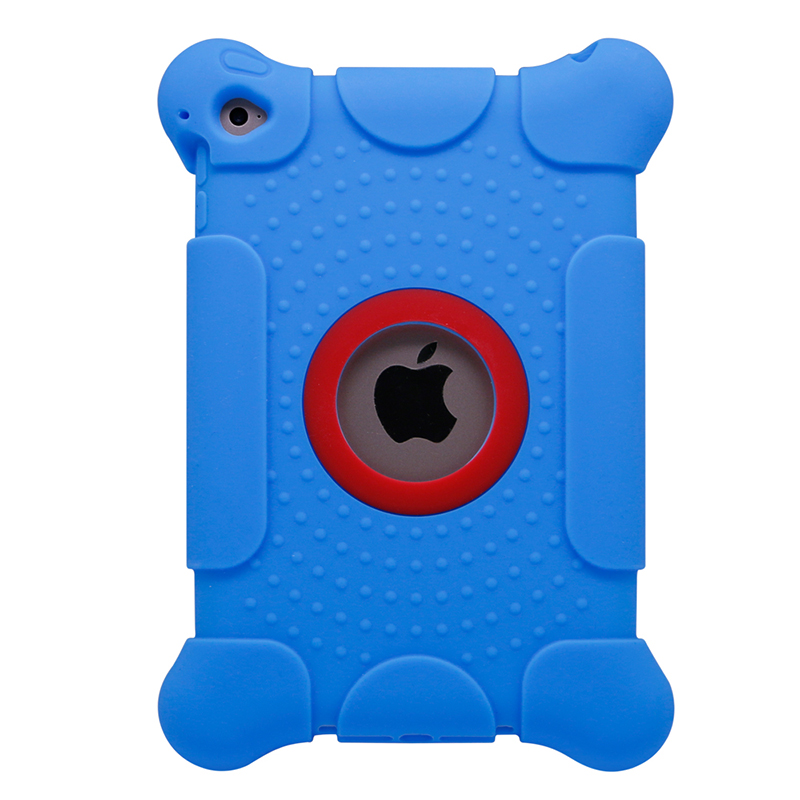 tablet accessories kid silicone 3D image protective case for ipad mini 4 case