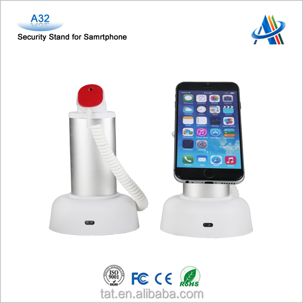 Original design!interactive and live display solution, retail anti-thief display device for mobile phone