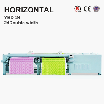 YBD24 Rotary hook Horizontal Quilting Embroidery Machine (double width)