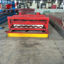 automatic arc corrugated sheets roll forming machine