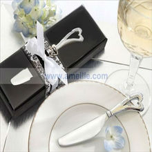 A05068 Spread the Love Chrome Spreader with Heart-Shaped Handle Spreader Favor