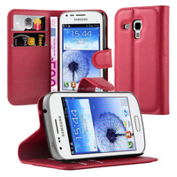 Book Wallet Phone Case Cover With Card Slots For Samsung Galaxy Trend Duos