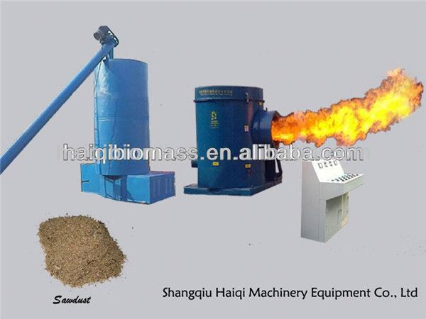 New full automatic High efficiency energy saving wood bio fuel