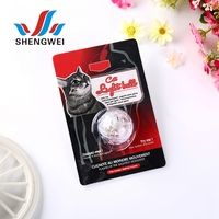 Cheap promotion plastic pet accessory colorful interactive cat flash disco ball