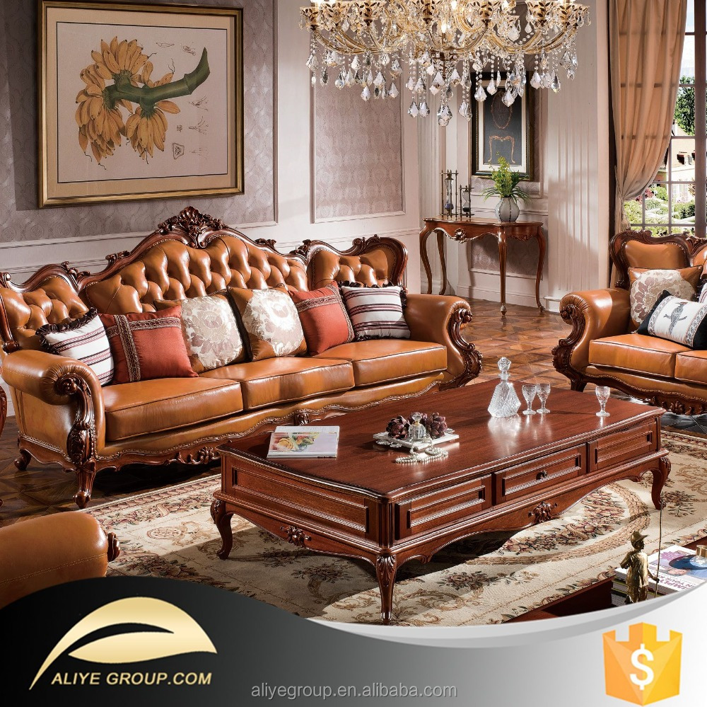As28 dubai leather sofa furniture 100 top grain leather Living room furniture for sale in dubai