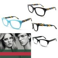 2014 designer glasses frames for men and women acetate blue demi and black