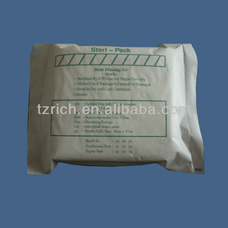 sterile surgical dressing pack