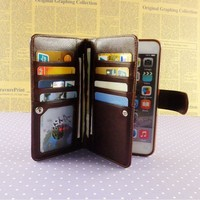 Hot sale waterproof case for samsung note 3 4 flip man wallet phone pouch for samsung galaxy note 2 3 4 wholesale