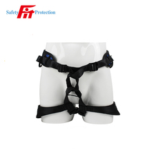 Popular black hanging climbing safety belt from professional manufacturer