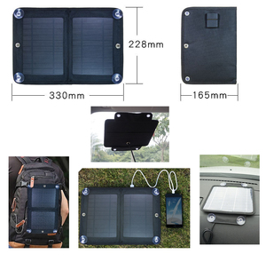 Alibaba Wholesale Folding Solar Charger 7W Foldable Solar Phone Charger Bag