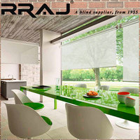 RRAJ Decorative Design Roller Sun Shades One Way Blinds