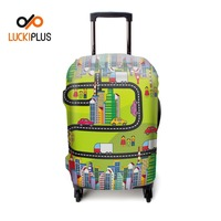 Luckiplus Luggage Accessroy Elastic Material Travel Luggage Cover