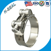 stainless steel heat resistant clamps KLM8*112SS