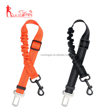 Pet travel supplies reflective bungee nylon dog cat car safety seat belt manufacture