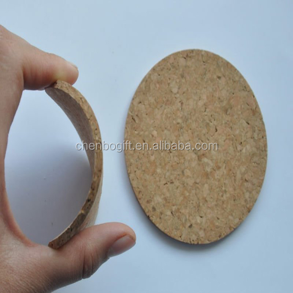 china manufacturer advertising wholesale bulk placemat and blank cork coaster