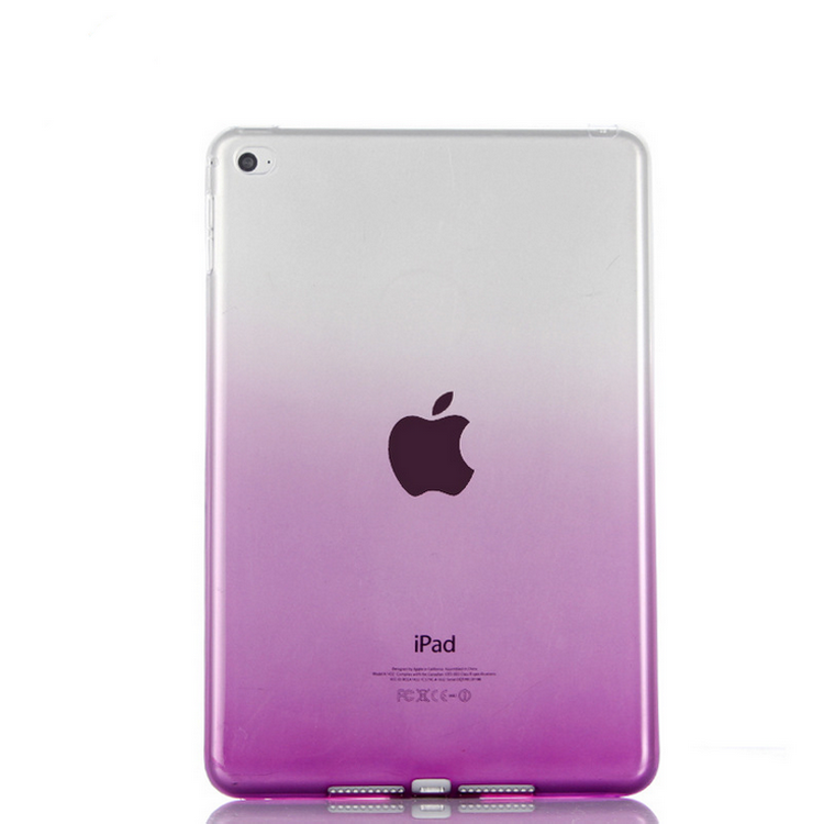 Transparant Slim Thin Cover for iPad Mini 4 Case Soft Silicone Gel Crystal Clear Back Cases