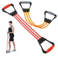 Resistance band/tube workout exercise bands custom logo therabands