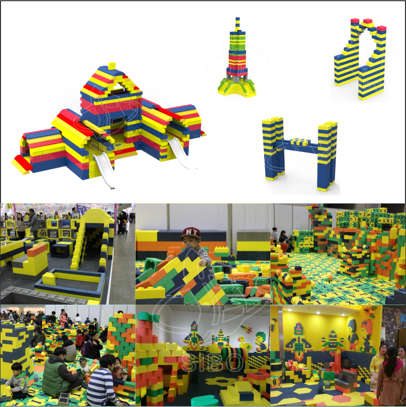 Commercial Safety Playground Toys Large EPP Building Blocks