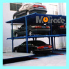 two three four Floors c.zhang@qdmutrade.com 4 Post Pit Parking Lift
