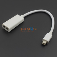 NEW Thunderbolt Mini DisplayPort DP Male to HDMI Female Audio Vidoe Adapter Cable For iMac For MAC Mini Pro For Macbook AIR PRO
