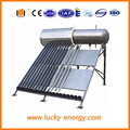 integrated stainless steel all evacutaed tube solar water heater