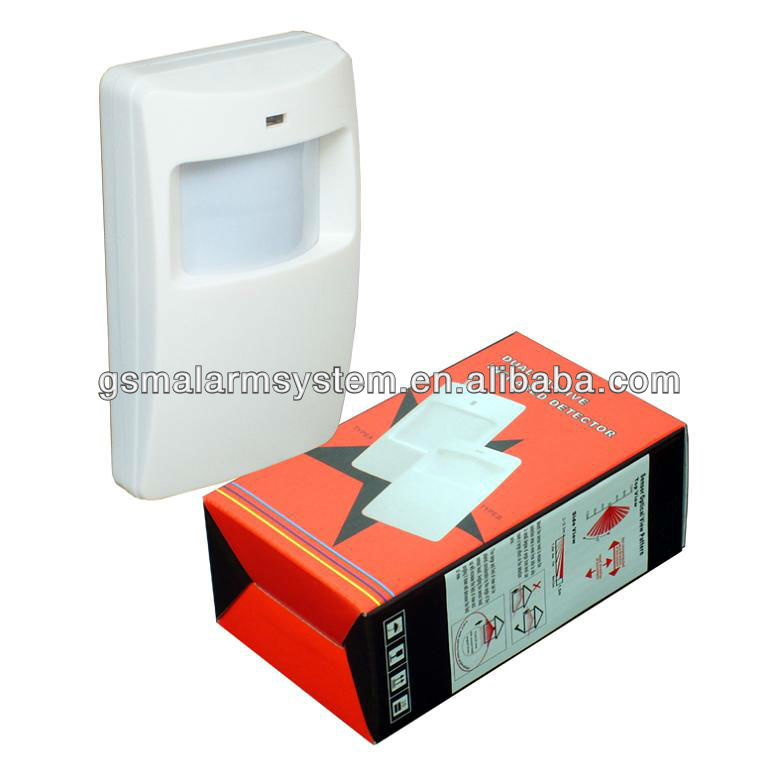 Passive Infrared Wireless PIR Motion Sensor PIR-100B