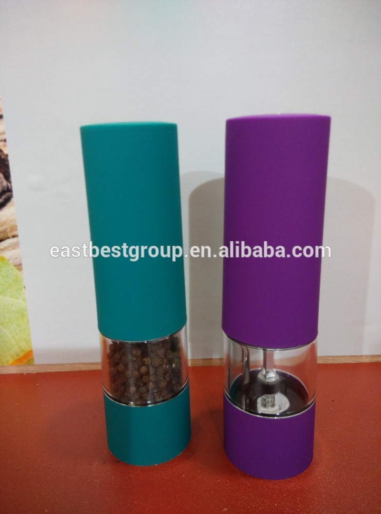 East Best electric salt and pepper mill Model No. EB880A electronic peppersalt grinding