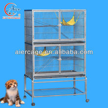 Double modular cat breeding cage on sale