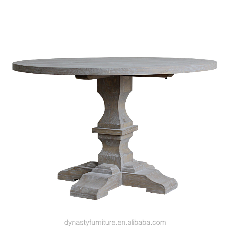 <strong>Antique</strong> <strong>oak</strong> furniture solid wood round dining <strong>table</strong> base